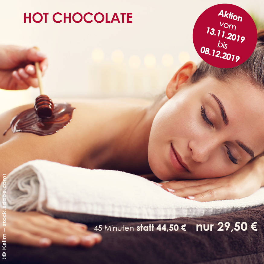 Hot Chocolate Massage Herbstangebot
